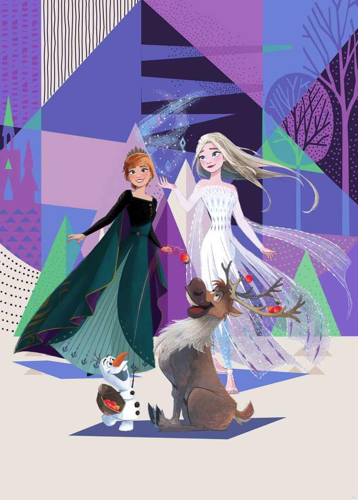 Poster XXL impression numérique Frozen Abstract Arendelle