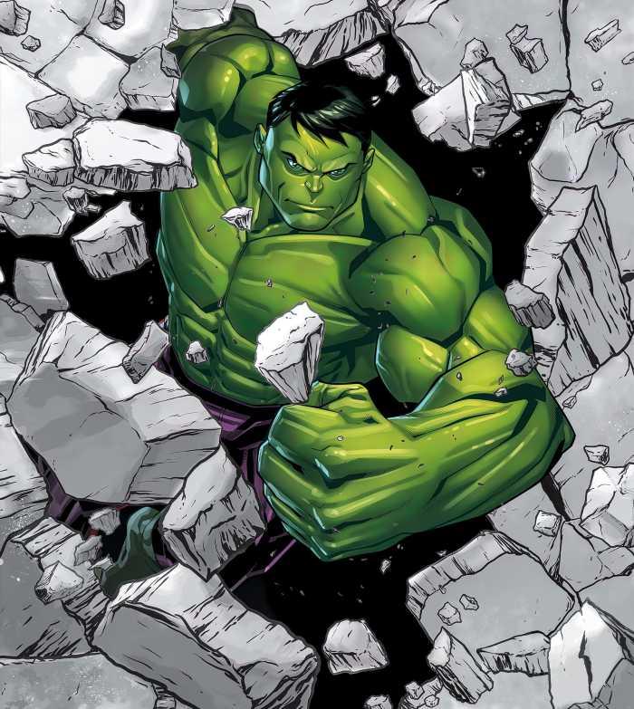 Poster XXL impression numérique Hulk Breaker