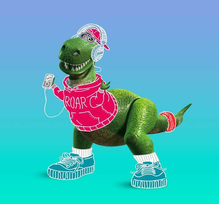Poster XXL impression numérique Toy Story Roar