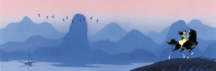 Poster XXL impression numérique Mulan Hills