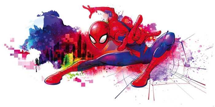 Poster XXL impression numérique Spider-Man Graffiti Art