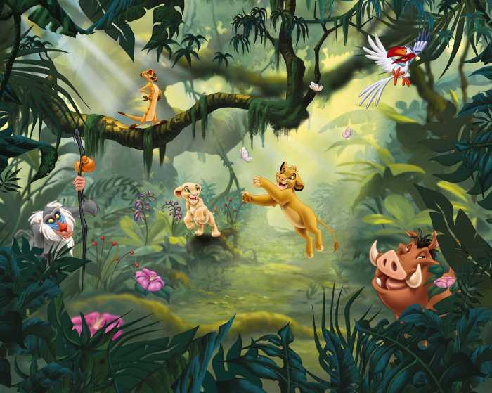 Poster XXL impression numérique Lion King Hakuna Matata