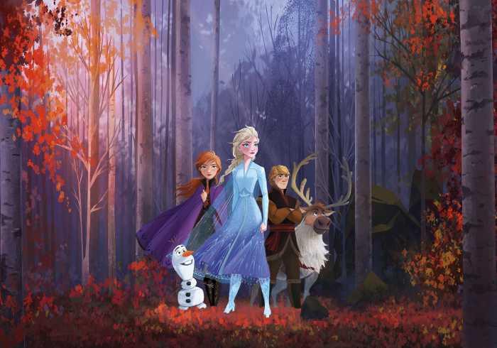 Poster XXL impression numérique Frozen Autumn Glade