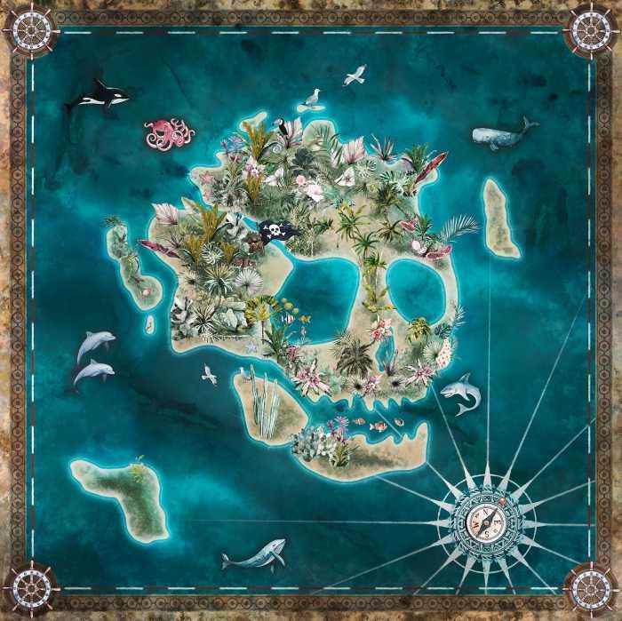 Poster XXL impression numérique Skull Island