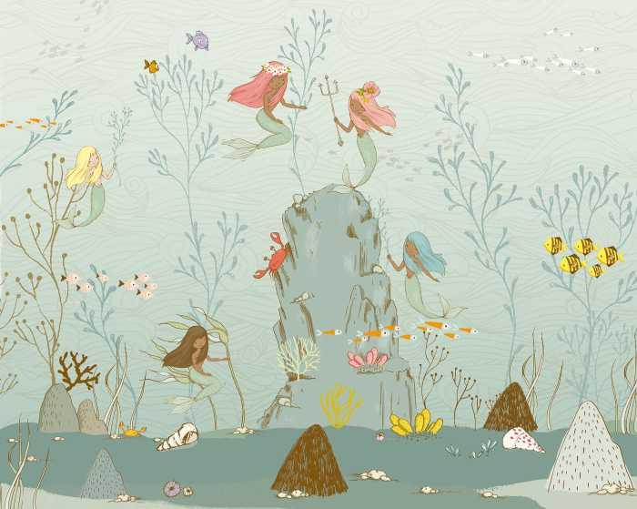 Poster XXL impression numérique Mermaids