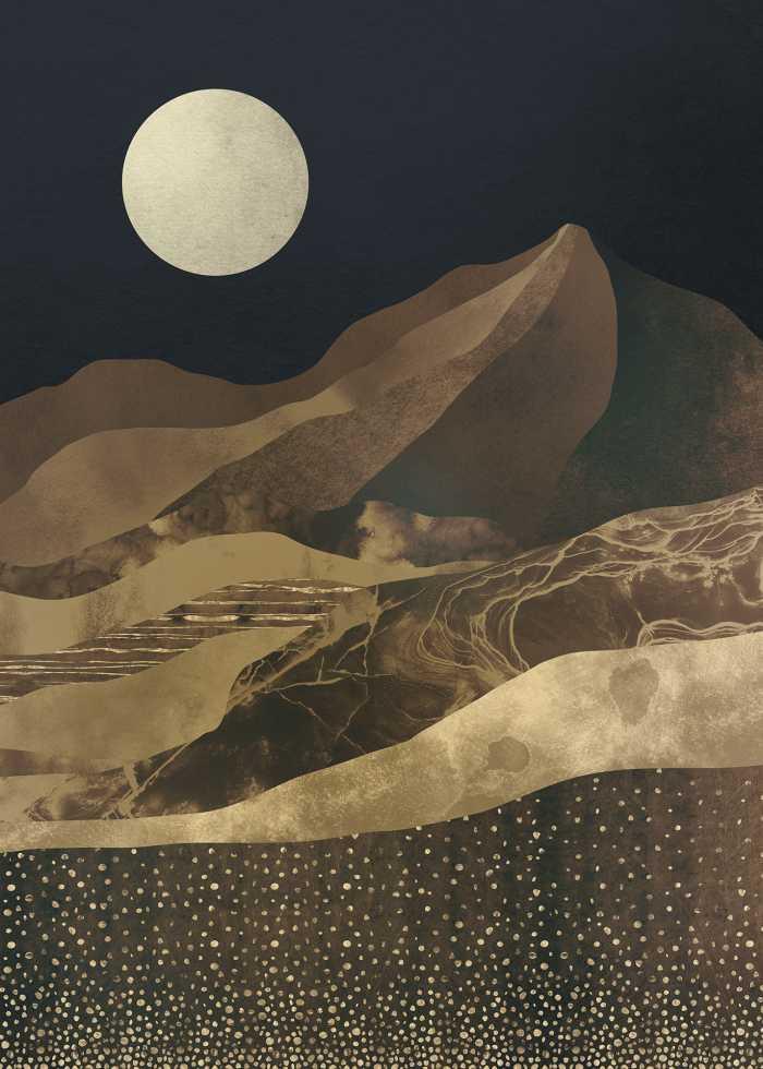 Poster XXL impression numérique Mountain Spike