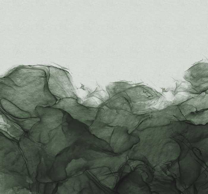Poster XXL impression numérique Green Dust