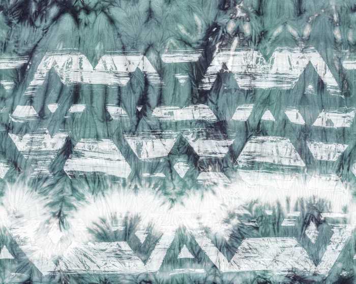 Poster XXL impression numérique Tribal Dye