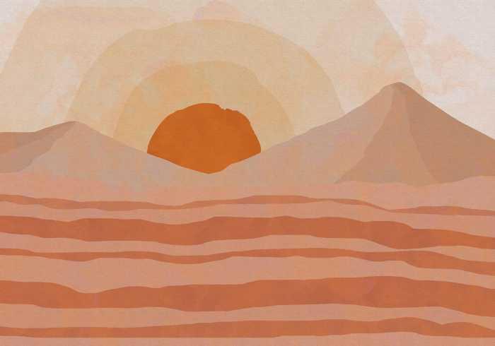 Poster XXL impression numérique Sabbia