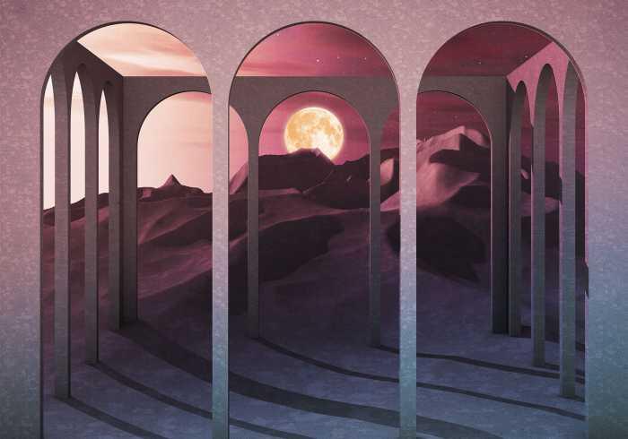 Poster XXL impression numérique Sands Of Time