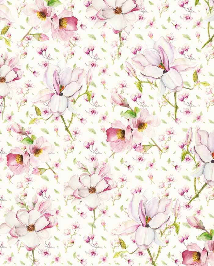 Poster XXL impression numérique Magnolia