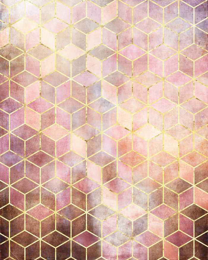 Poster XXL impression numérique Mosaik Rosso