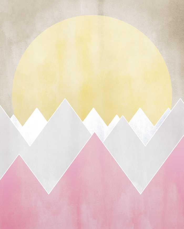 Poster XXL impression numérique Sunrise Spring