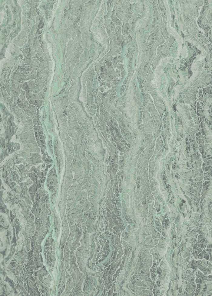 Poster XXL impression numérique Marble Mint