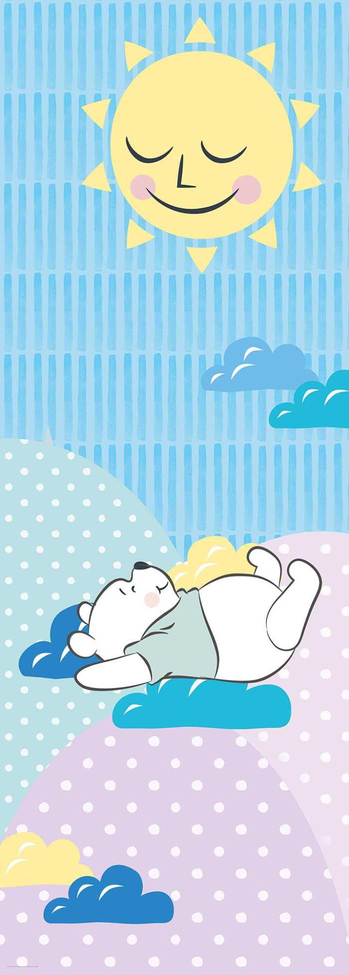 Poster XXL impression numérique Winnie Pooh Take a Nap