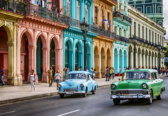 Photo murale Cuba