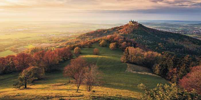 Panneau sur intissé  Fairy Tale Castle