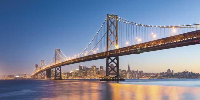 Panneau sur intissé  Spectacular San Francisco