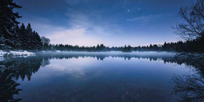 Panneau sur intissé  Glistening Stars