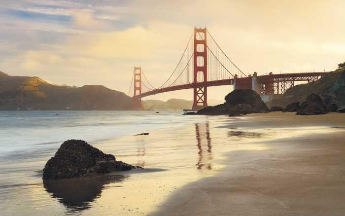 Poster XXL impression numérique Golden Gate