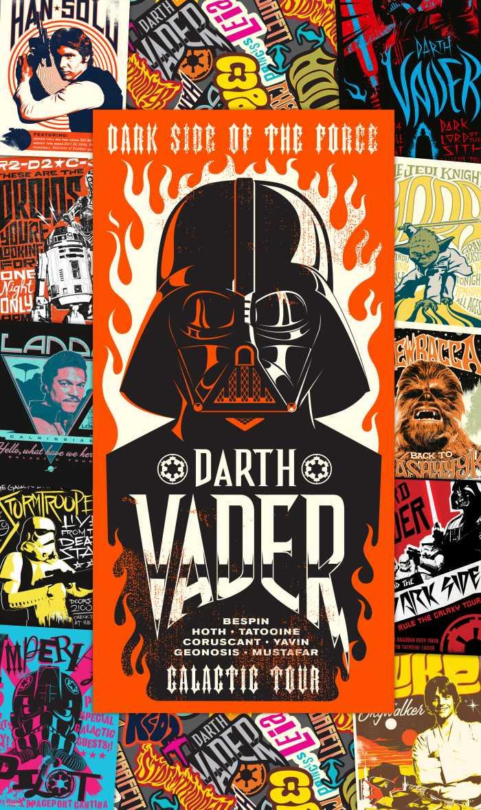 Panneau sur intissé  Star Wars Rock On Posters