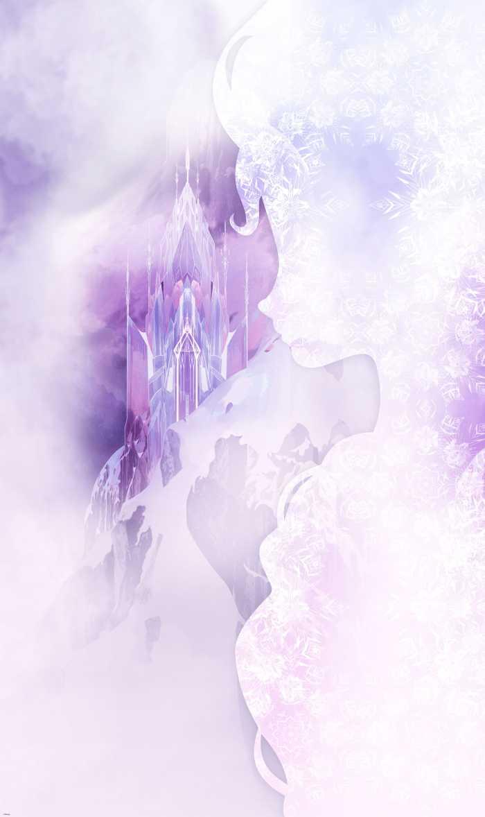 Panneau sur intissé  Frozen Winter Mist