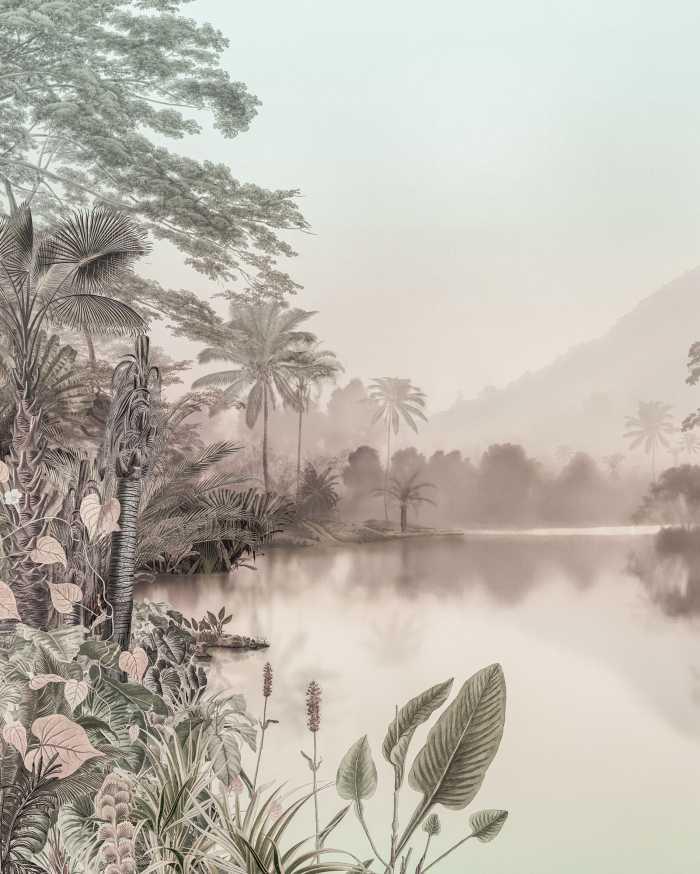 Poster XXL impression numérique Lac des Palmiers