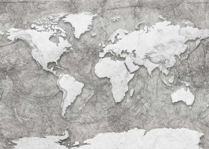 Poster XXL impression numérique World Relief