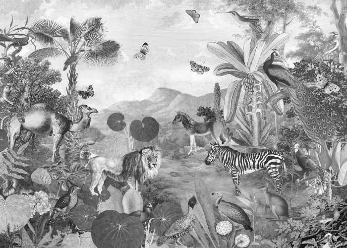 Poster XXL impression numérique Flora and Fauna