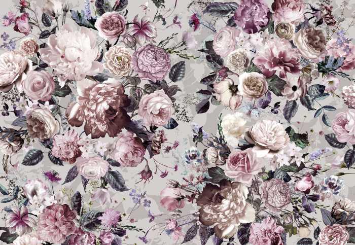 Poster XXL impression numérique Lovely Blossoms