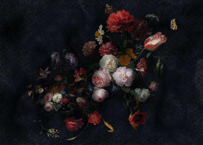 Poster XXL impression numérique Amsterdam Flowers