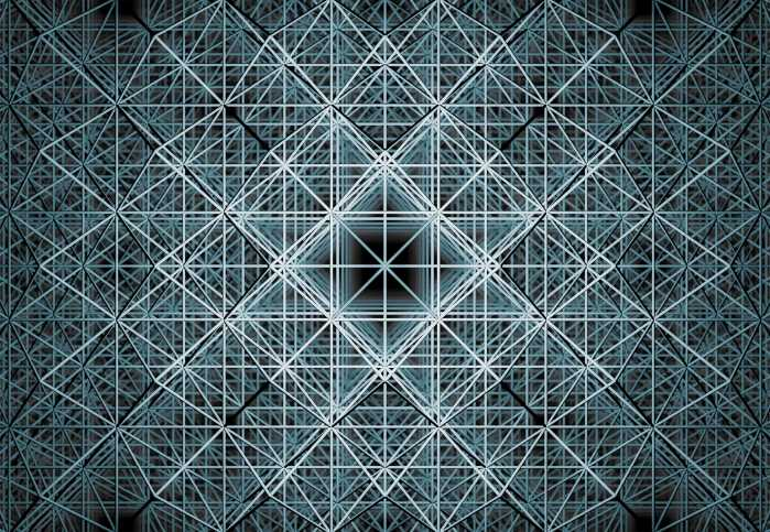 Photo murale intissé Matrix