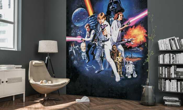 Poster XXL impression numérique Star Wars Poster Classic 1