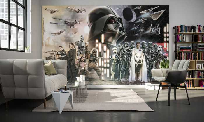 Poster XXL impression numérique Star Wars Collage