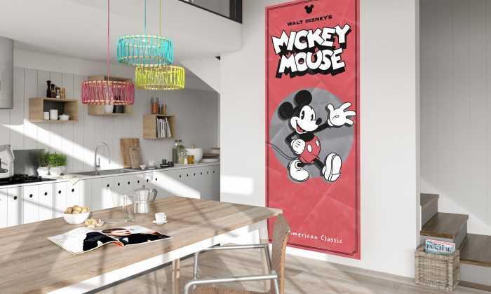Panneau sur intissé  Mickey - American Classic