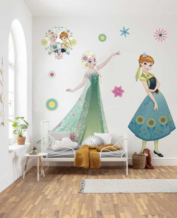 Sticker mural Frozen Springtime XXL