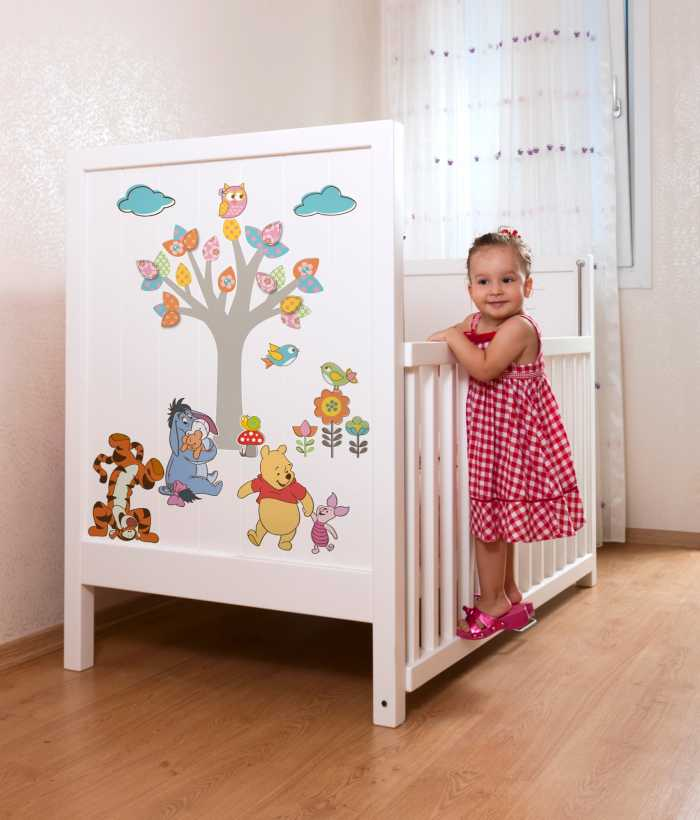 Sticker mural Winnie Pooh Nature Lovers