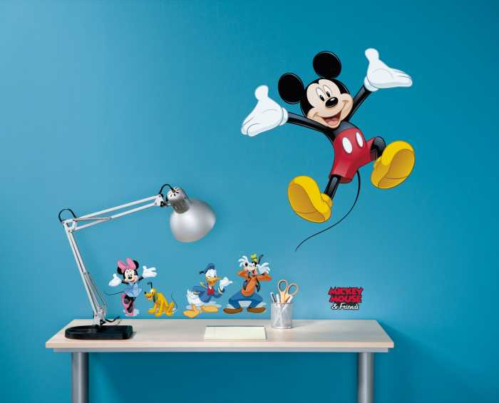 Sticker mural Mickey and Friends