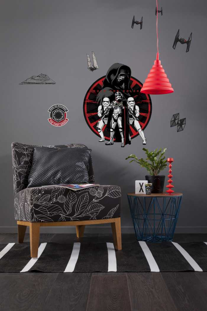 Sticker mural Star Wars First Order