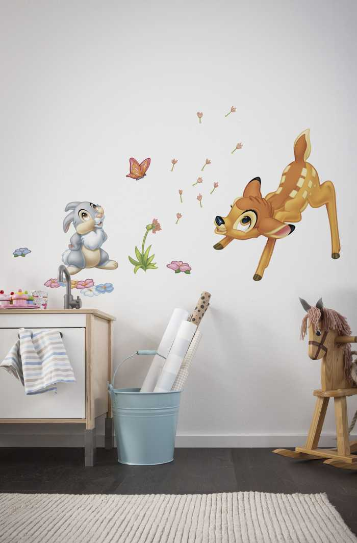Sticker mural Bambi