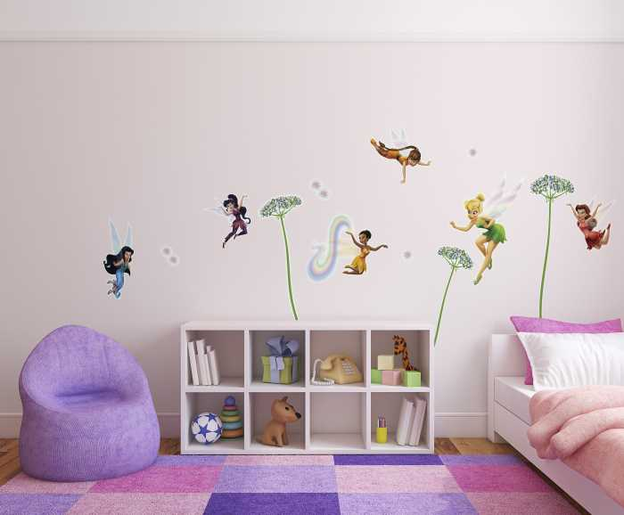 Sticker mural Fairies