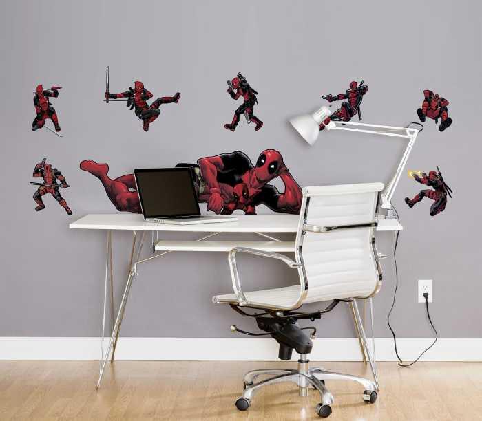 Sticker mural Deadpool Posing