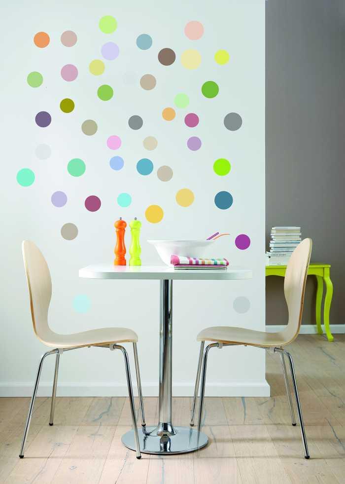 Sticker mural Dots