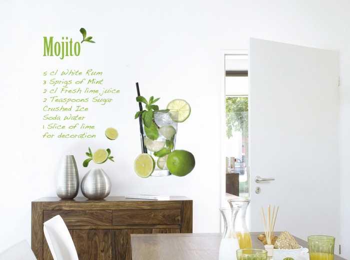 Sticker mural Mojito