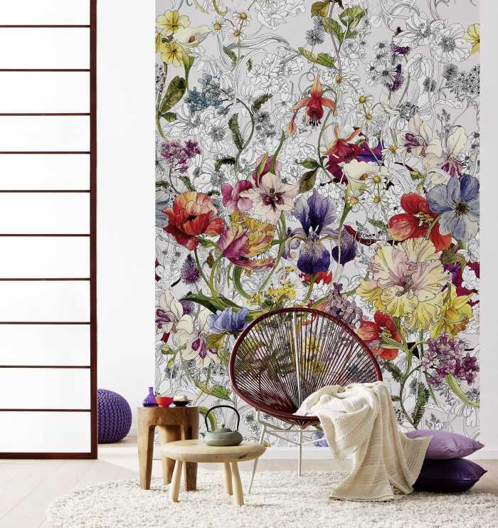 Photo murale Flora