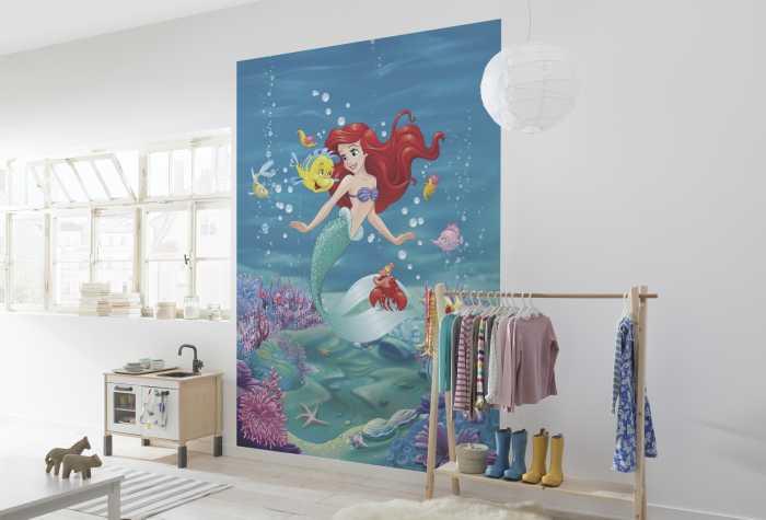 Photo murale Ariel Singing