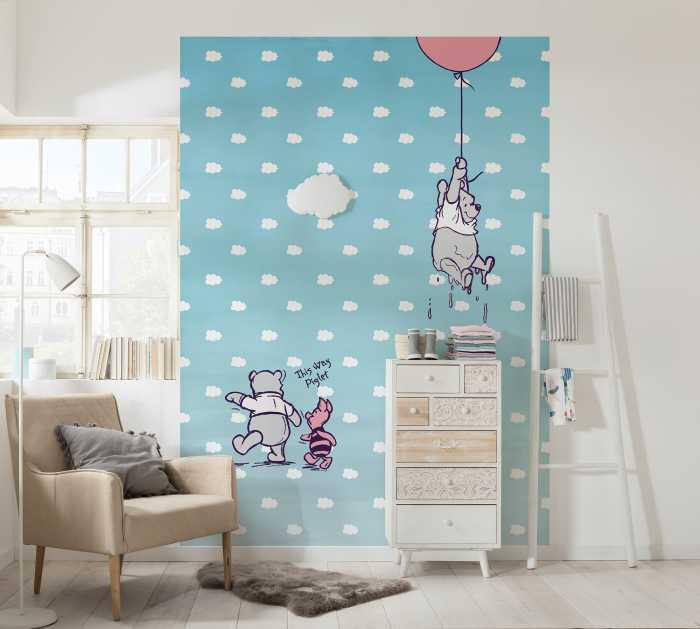 Photo murale Winnie Pooh Piglet