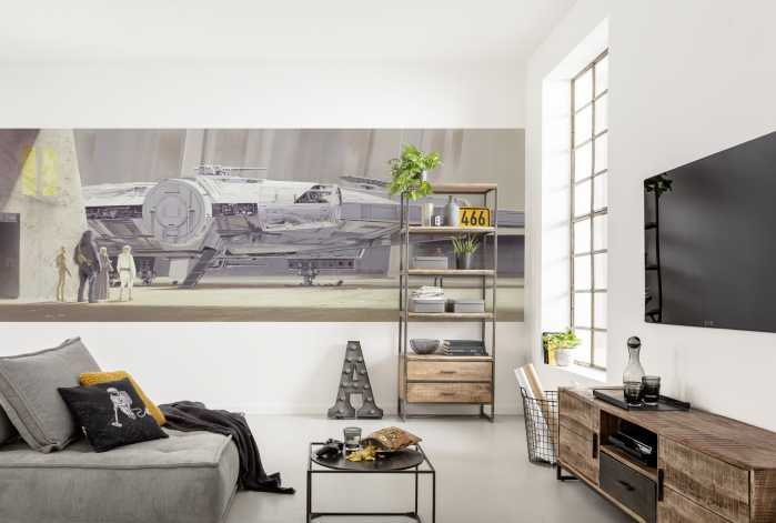 Photo murale Star Wars Classic RMQ Millenium Falcon