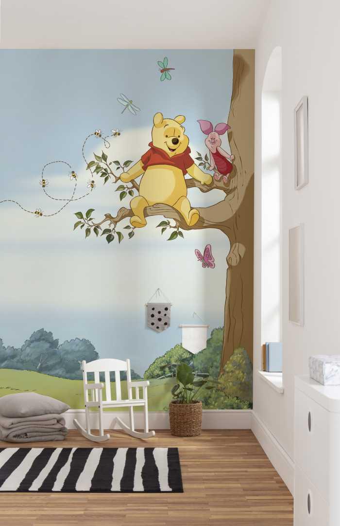 Photo murale Winnie Pooh Tree