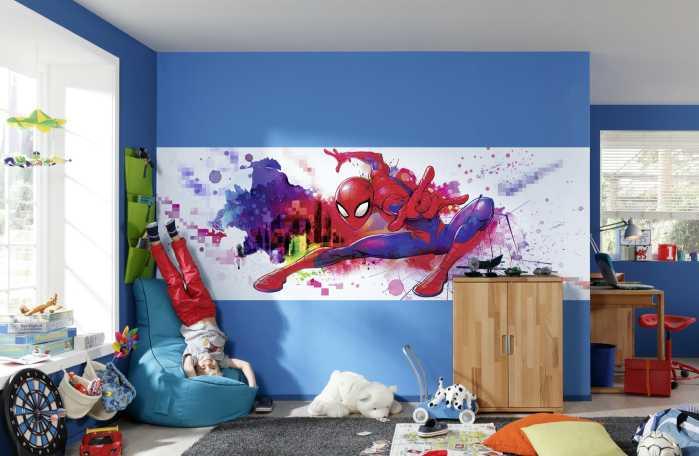 Photo murale Spider-Man Graffiti